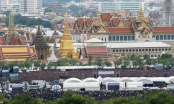 Hàng nghìn người dân Thái hát quốc ca tưởng nhớ nhà vua Bhumibol Adeladej