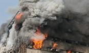 Hiện trường vụ cháy lớn tại trung tâm thương mại ở Iran: 30 lính cứu hỏa thiệt mạng