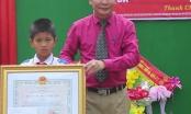 Cứu 2 em nhỏ đuối nước, học sinh lớp 5 được Chủ tịch nước tặng Huân chương dũng cảm