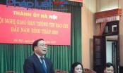 Bí thư Thành ủy Hà Nội mong báo chí hợp tác vấn đề tiêu cực