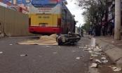 Hà Nội: Xe buýt gây tai nạn, một người tử vong tại chỗ