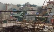 Hà Nội: Đình chỉ dự án thi công có cần cẩu gẫy, đổ sập