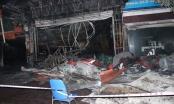 Cửa hàng nội thất tan hoang sau khi bị bà hỏa thiêu rụi ở TX Đông Triều