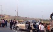 Tai nạn nghiêm trọng trên cao tốc Hà Nội - Thái Nguyên, 10 người thương vong