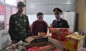 Quảng Ninh: Bắt giữ đối tượng mua hơn nửa tạ pháo về làm quà
