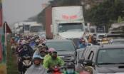 Nam Định: Giao thông kẹt cứng trước giờ khai hội chợ Viềng
