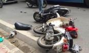 Hà Nội: Tai nạn liên hoàn, một người đàn ông nguy kịch