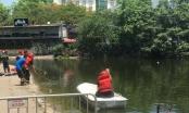 Hà Nội: Đang tìm kiếm thi thể người đàn ông nhảy xuống hồ Thiền Quang cứu nam thanh niên tự tử
