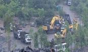 Quảng Ninh: Lợi dụng mở đường chuyển vật liệu lên chùa Hồ Thiên để khai thác than trái phép