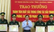 Quảng Ninh: Khen thưởng Bộ đội Biên phòng tỉnh đã có những thành tích xuất sắc