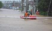 Quảng Ninh: Ảnh hưởng của cơn bão Sơn Tinh, nhiều nơi bị ngập sâu trong nước