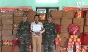 Lạng Sơn: Bắt giữ đối tượng vận chuyển 2 tấn pháo nổ qua biên giới
