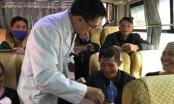"""32 """"chuyến xe yêu thương"""" đưa 1000 bệnh nhân về quê ăn Tết"""