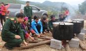 Quảng Ninh: Những chiếc bánh chưng thắm đầy tình nghĩa quân dân