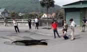 Quảng Ninh: Quốc lộ 18A sụt lún, lượn sóng, khiến nhiều người phát hoảng