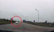 Cục CSGT vào cuộc xác minh, xử lý nghiêm xe ô tô đi ngược chiều trên cao tốc Hà Nội-Thái Nguyên