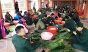 Quảng Ninh: Hơn 1000 chiếc bánh chưng thắm tình quân dân đến với người nghèo