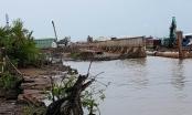 TP HCM: Sạt lở nghiêm trọng bờ kè Tắc Sông Chà tại huyện Cần Giờ