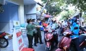 Công an tỉnh Đồng Nai cùng người lao động phòng, chống dịch Covid-19