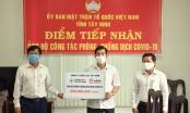 MTTQ Việt Nam tỉnh Tây Ninh tiếp nhận hơn 5,1 tỷ đồng ủng hộ phòng, chống dịch Covid-19