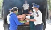 Bộ tư lệnh Vùng Cảnh sát biển 3 hỗ trợ ngư dân bị ảnh hưởng bởi dịch Covid-19