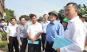 Bí thư Nguyễn Thiện Nhân thị sát điểm nóng xây nhà không phép ở huyện Bình Chánh