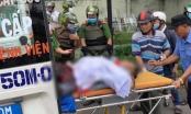 TP HCM: Người đàn ông cầm hung khí tự đâm vào cơ thể