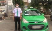 Tài xế taxi Mai Linh đạp ngã xe, khống chế tên cướp