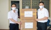 BHXH TP Hải Phòng trao tặng 5.000 khẩu trang cho BHXH tỉnh Bắc Ninh, Bắc Giang