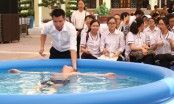 Hải Phòng chi 2,2 tỷ đồng lắp bể bơi phao cho các trường học