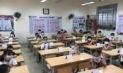 Học sinh lớp 1 tại Hải Phòng phấn khởi tựu trường vào 25/8