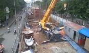 Khốn khổ vì Công trình Metro Cầu giấy -  Nhổn thi công rùa bò