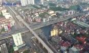 Cận cảnh nút giao 4 tầng đầu tiên ở thủ đô trước giờ thông xe