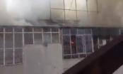 Clip khói lửa ngút trời ở toà nhà Pizza Pepperroni 37 Trần Đăng Ninh