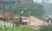 Phú Thọ: Thâm nhập đại công trường cát tặc tàn phá sông Chảy