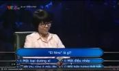 Video: Khó đỡ với nữ thí sinh tham gia chương trình Ai là triệu phú