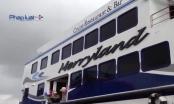 Đà Nẵng: Hạ thủy tàu du lịch vỏ composite đầu tiên