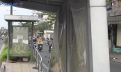 TP HCM: Nhà chờ xe buýt trên đại lộ nghìn tỷ xuống cấp và đầy rác