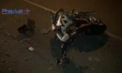 TP HCM: Xe máy va chạm với xe lu, 1 người nguy kịch