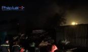 TP HCM: Khói lửa bao trùm bãi phế liệu, nhiều tài sản bị thiêu rụi