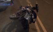 Bình Dương: 2 xe máy đối đầu, 2 người nhập viện