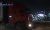 Bình Dương: Tránh đá dăm trên đường, 2 cô gái bị container cán thương vong