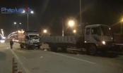 TP HCM: Hai xe tải va chạm trong đêm, 3 người thương vong