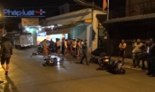 Bình Dương: 3 xe máy tông liên hoàn, 5 người bị thương