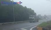 Xe tải lộng hành trên cao tốc Hà Nội - Bắc Giang: Phòng CSGT Bắc Giang nói khó xử lý