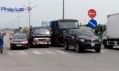TP HCM: Tai nạn liên hoàn trên đường dẫn vào cao tốc