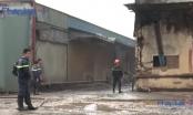 Clip: Cháy xưởng mùn cưa, 2 người tử vong tại Bình Dương