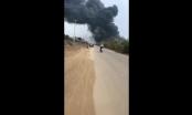 Thanh Hóa: Hỏa hoạn thiêu rụi nhà máy bánh kẹo Tràng An
