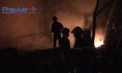 Bình Dương: Bà hỏa thiêu rụi kho phế liệu