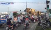 TP HCM: Va chạm giữa xe máy và xe bồn, 1 người tử vong